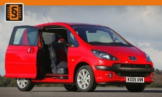 ECU Remap - Chiptuning Peugeot  1007