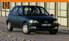 ECU Remap - Chiptuning Peugeot  106