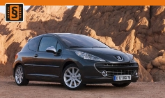 ECU Remap - Chiptuning Peugeot  207