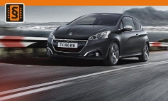 ECU Remap - Chiptuning Peugeot  208