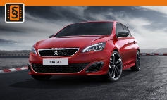 ECU Remap - Chiptuning Peugeot  308