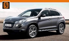 ECU Remap - Chiptuning Peugeot  4008