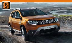 ECU Remap - Chiptuning Dacia  Duster