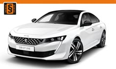 ECU Remap - Chiptuning Peugeot  508