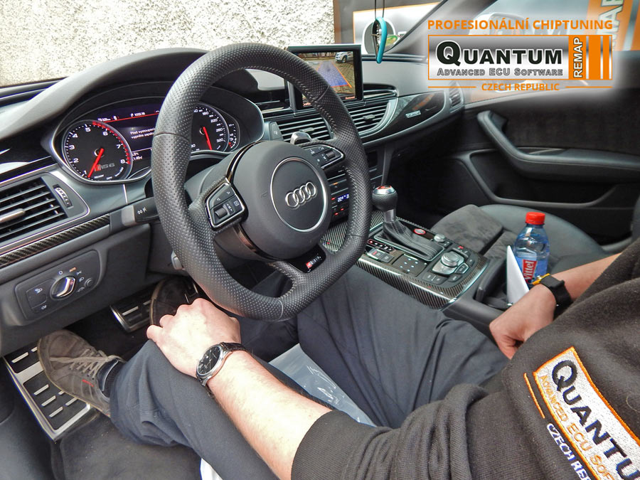 Chip Tuning the Audi RS6 4.0 TFSi 560 hp (412 kW)