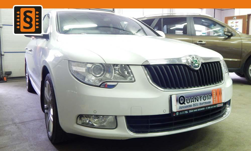 Reference Chiptuning Jihlava Škoda Superb II 2.0TDi 125kW