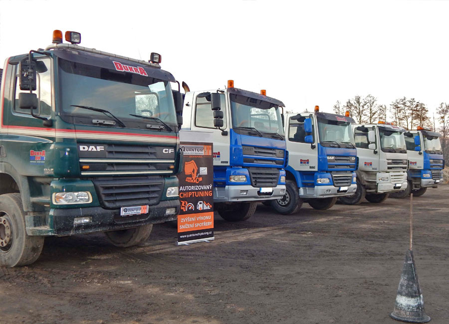 Chip tuning DAF trucks