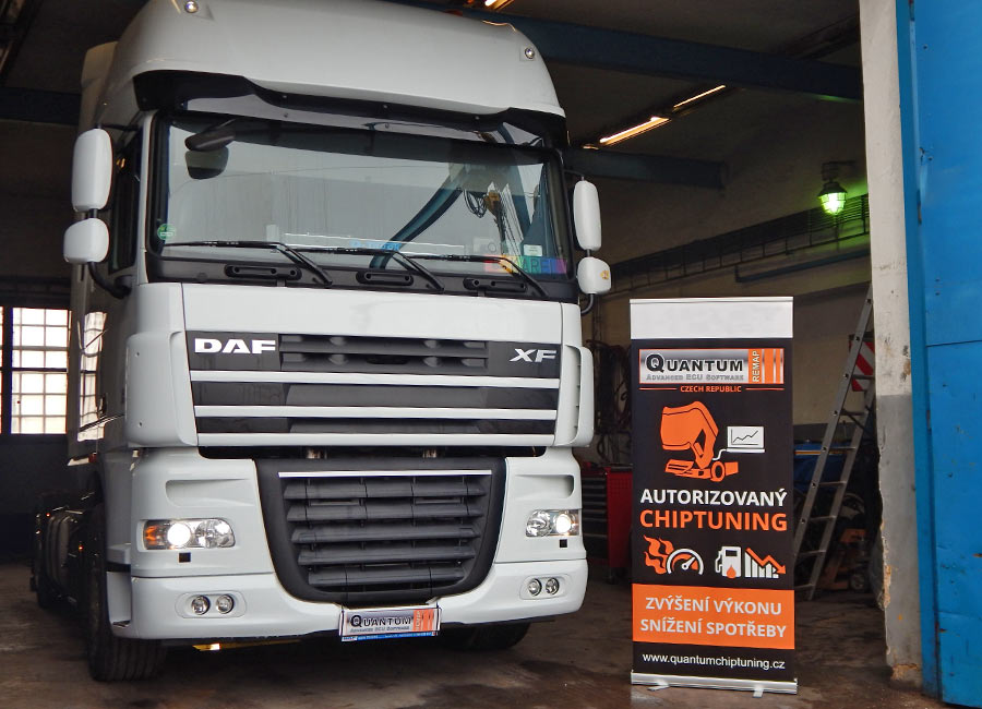 Chip tuning the DAF FX