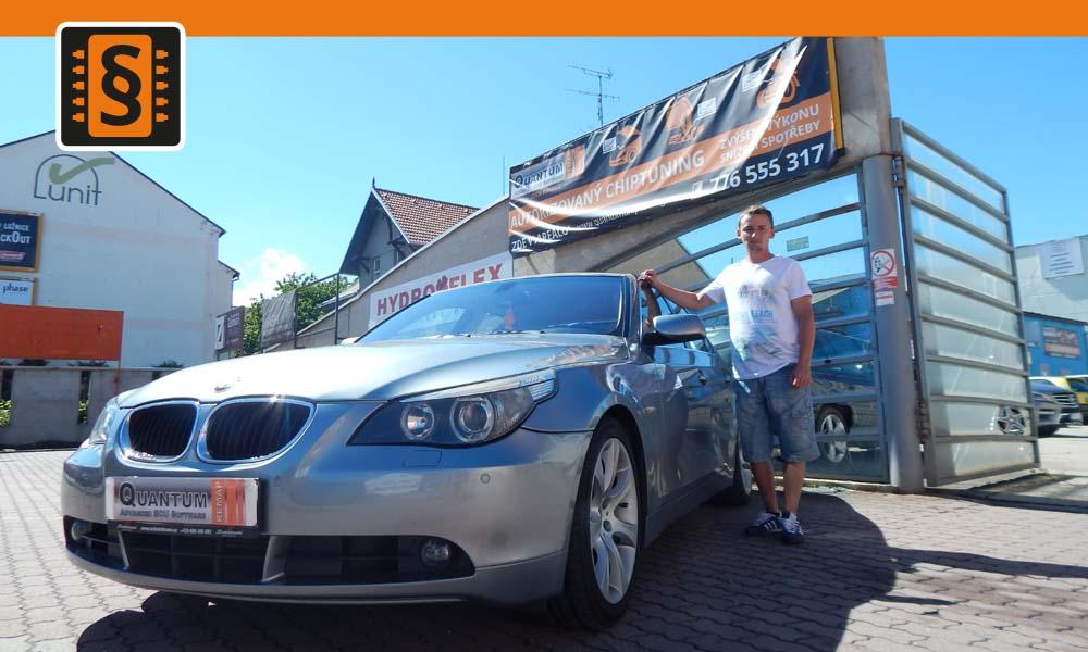 Reference Quantum České Budějovice Chiptuning BMW E60 530i 170kw
