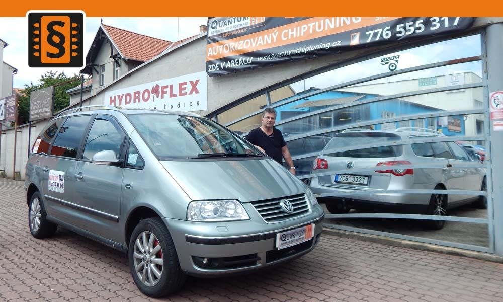 Reference České Budějovice Chiptuning TAXI VW Sharan 1.9TDi