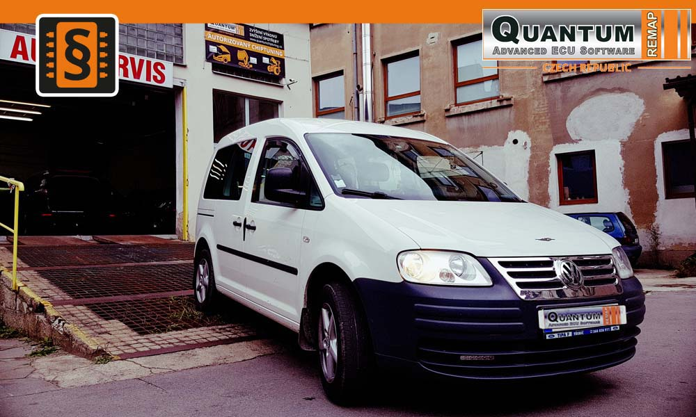 Reference Quantum Jihlava Chiptuning VW Caddy 1.9TDi 77kW