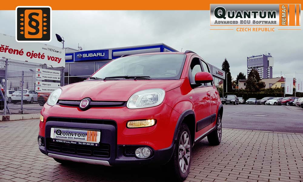 Reference Olomouc Chiptuning Fiat Panda 4x4 1.3MJET 70kw