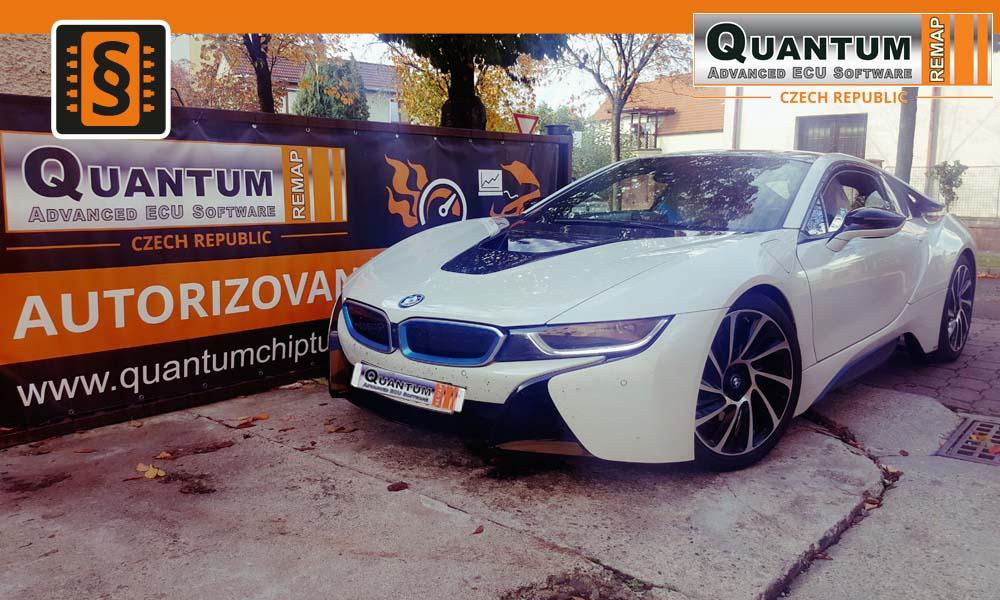 Reference Praha Chiptuning BMW i8 Hybrid 170kw