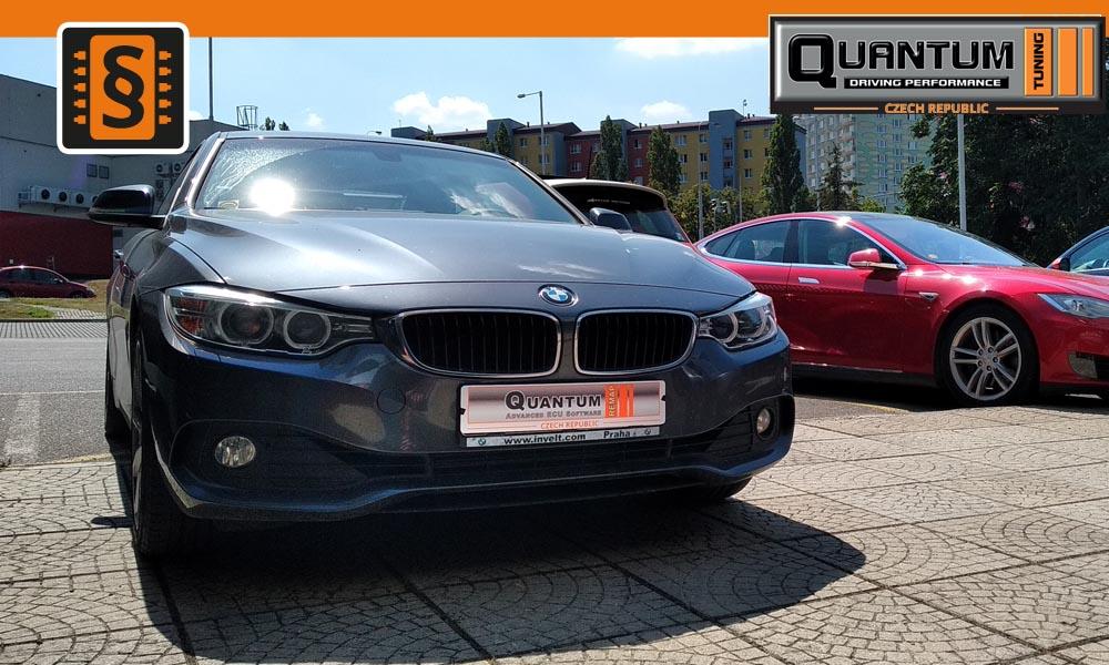 Reference Praha Chiptuning BMW 420i 135kw