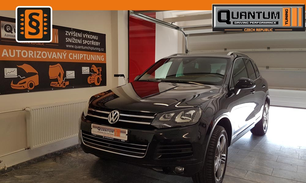 Reference Praha Chiptuning Volkswagen Touareg 3.0TDi