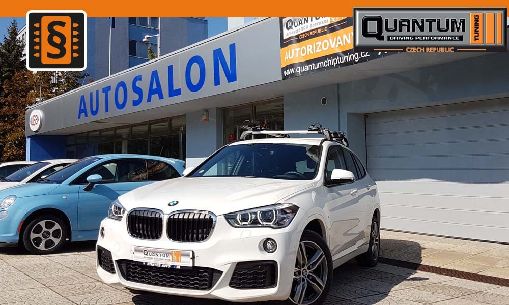 Reference Praha Chiptuning BMW X1 18d 110kw