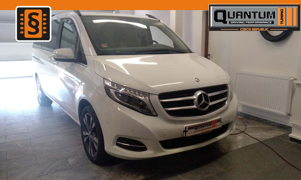 Reference Praha Chiptuning Mercedes V-Class 250CDi