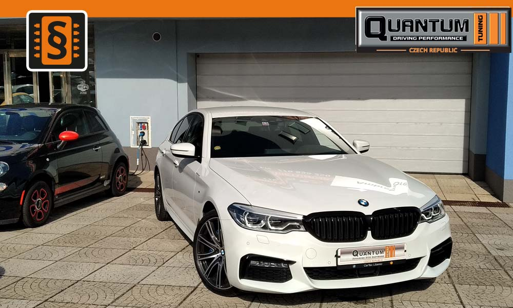 Reference Praha Chiptuning BMW 5 30D 195kW