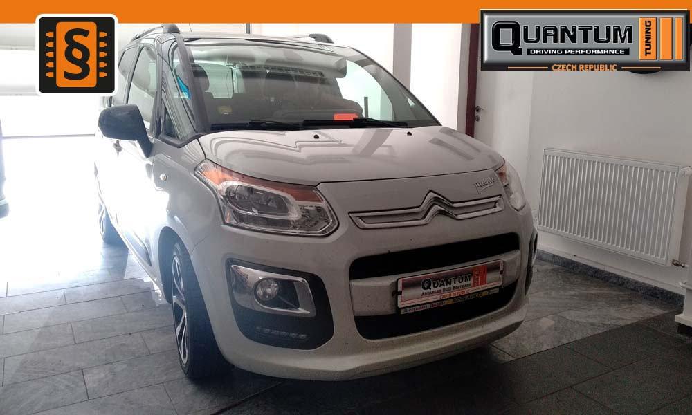 Reference Praha Chiptuning Citroen C3 Picasso 1.6 BlueHDi