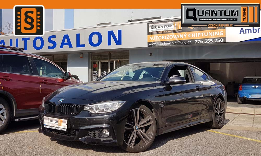 Reference Praha Chiptuning BMW 435i 225kw